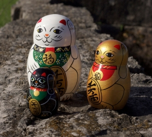 Lucky cats 0