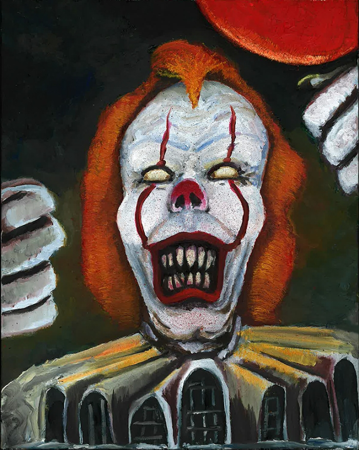 Ugly Clown or Bob Gray sm